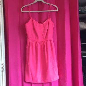 Hot Pink JCrew Dress